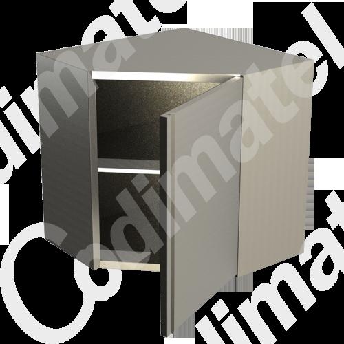 Codimatel equipement grande cuisine depuis 1980 placards d 39 angles for Placard suspendu